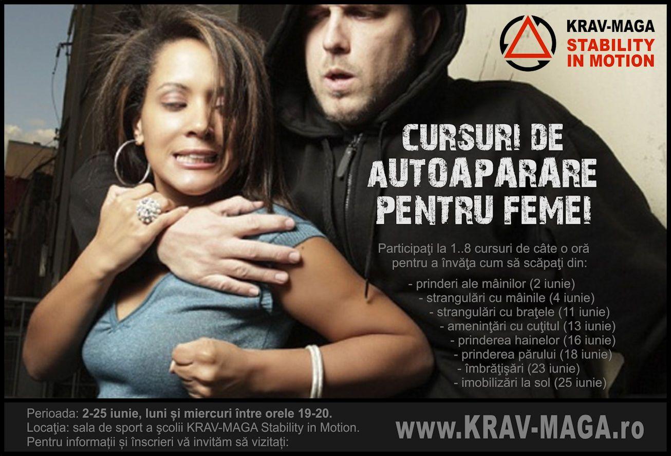 Autoapărare pentru FEMEI