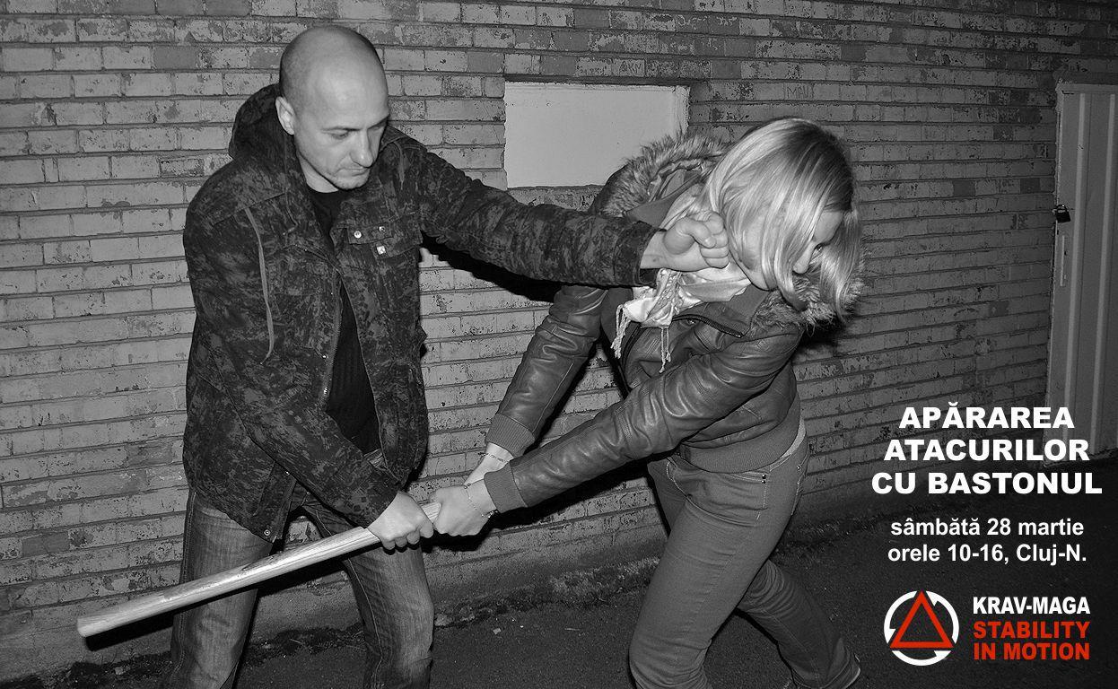 Apărarea atacurilor cu bastonul
