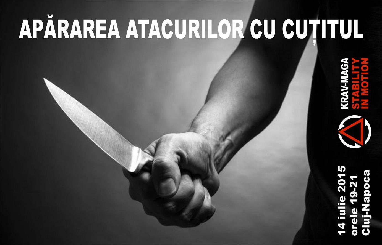 Apărarea atacurilor cu cuțitul