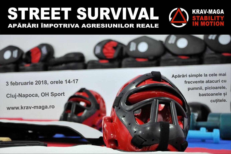Street Survival - apărări împotriva agresiunilor reale