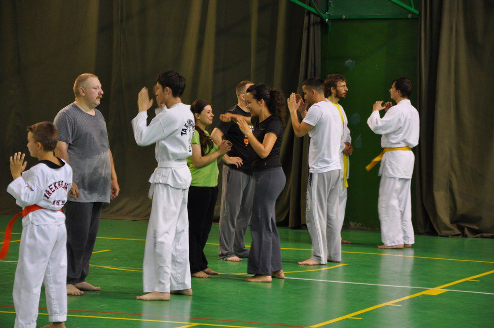 Course and exam for the orange belt