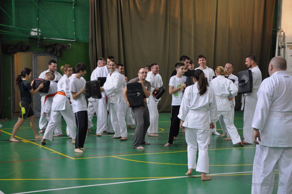 The first part of the yellow belt exam