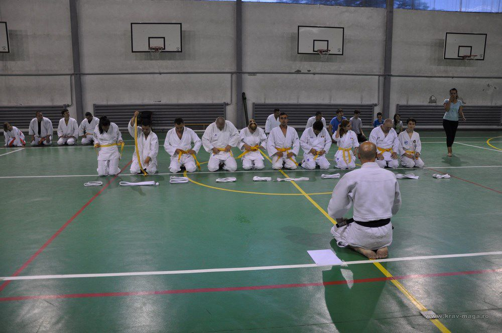 The second part of the yellow belt exam