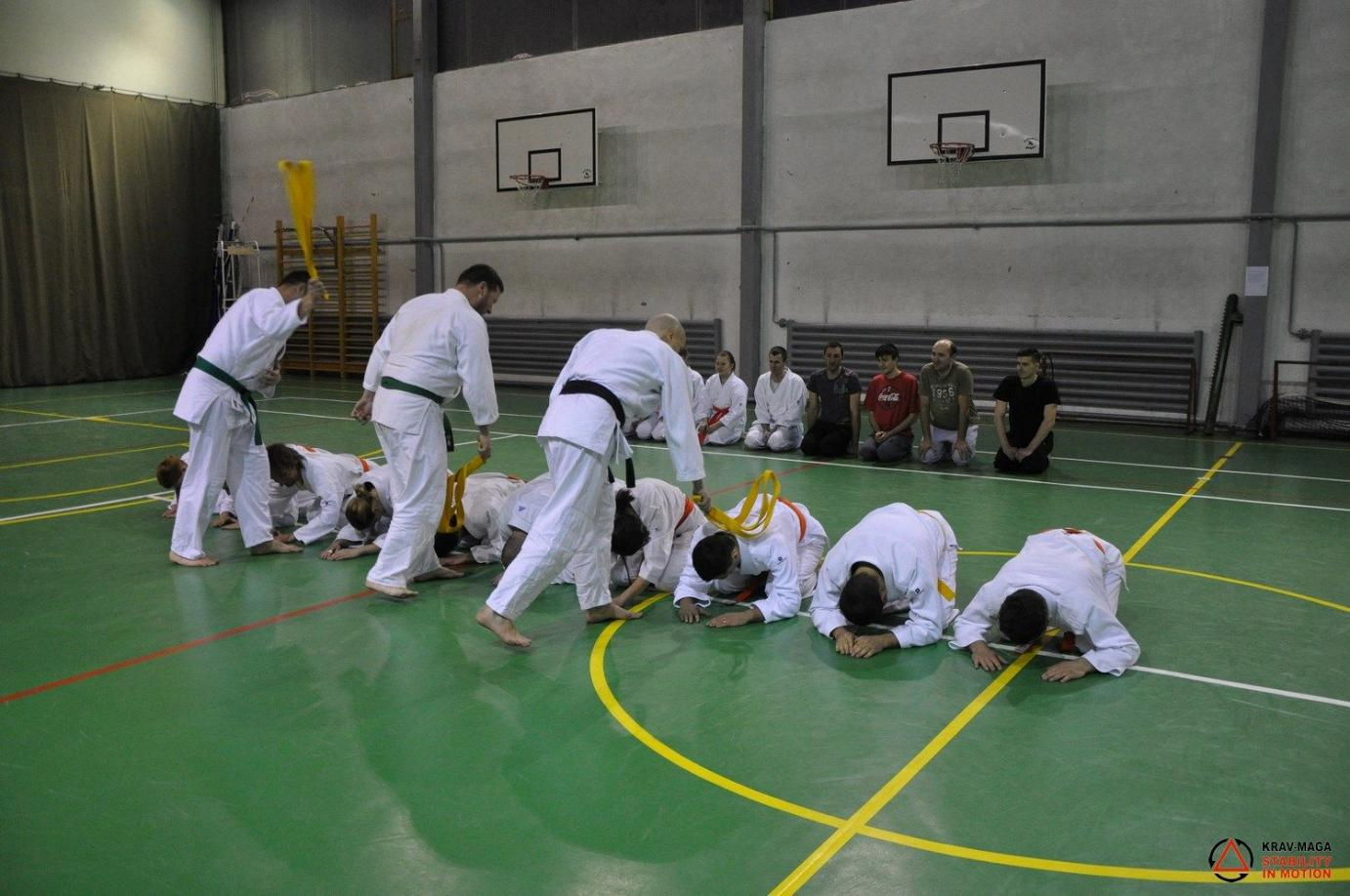 Exam for the orange belt