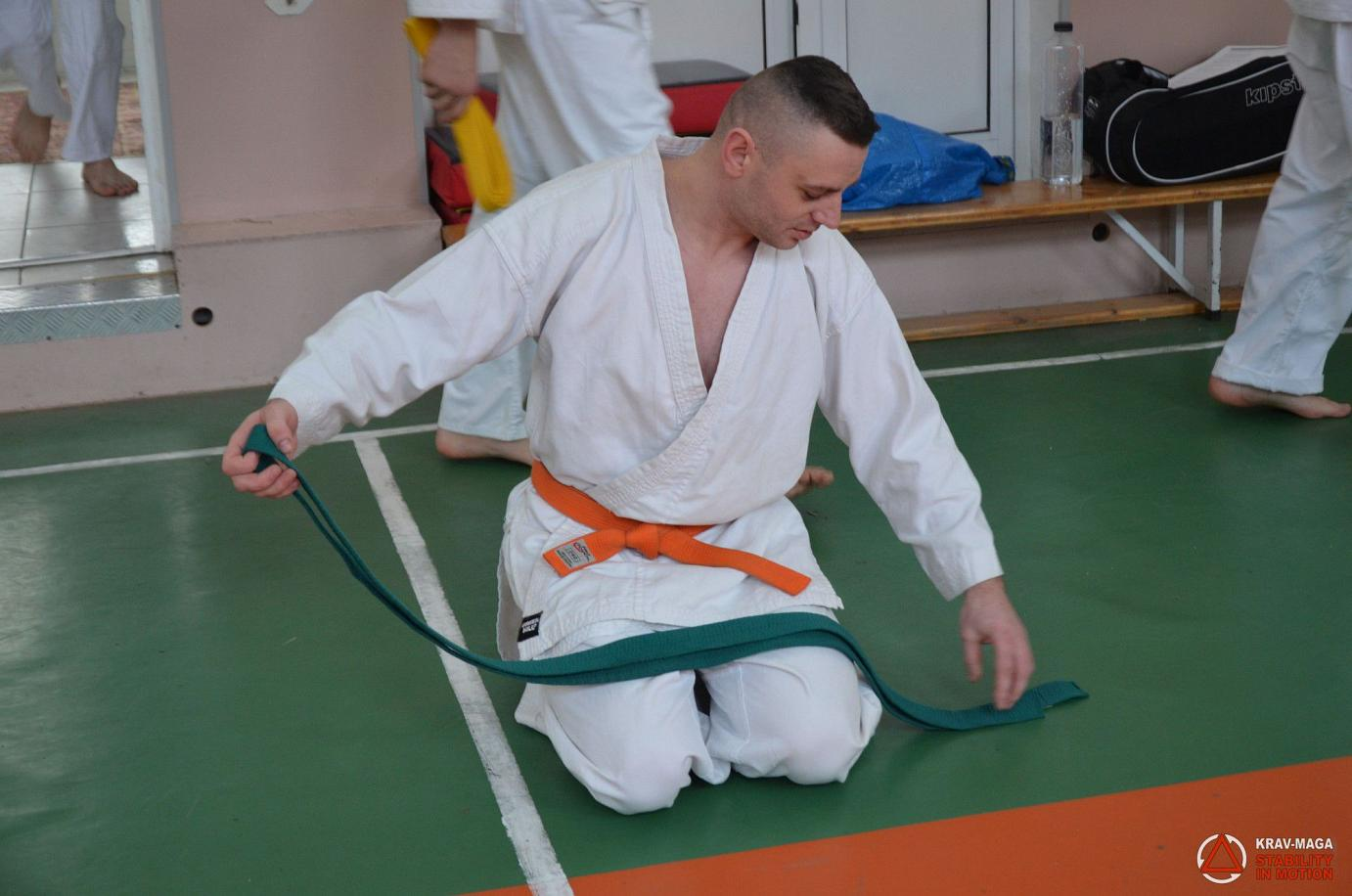 Belt exam in Suceava, Romania